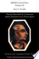 Nicolas Edme Rétif de la Bretonne, 'Ingénue Saxancour'