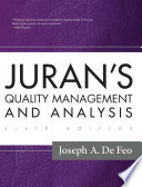 Juran s Quality Management and Analysis