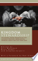 Kingdom Stewardship Occasional Papers Prepared By The Lausanne Resource Mobilization Working Group For Cape Town 2010