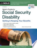 Nolo s Guide to Social Security Disability