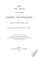 The Book of Joseph and Zuleikh