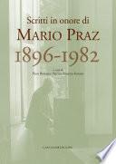 Mario Praz 1896 1982