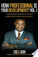 How Professional Is Your Development Vol  1