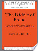 The Riddle of Freud Certain Important Elements Of Judaic Culture Were So