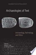 Archaeologies Of Text