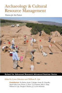 Archaeology   Cultural Resource Management