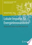 Lokale Impulse für Energieinnovationen