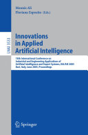 Innovations in Applied Artificial Intelligence