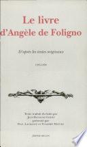 Le Livre d'Angèle de Foligno