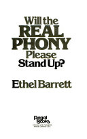 Will the real phony please stand up?