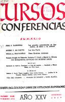 Cursos y conferencias