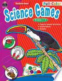 Full Color Science Games  Grades 1 2