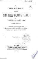 Scienza e la pratica per la stima delle proprieta stabili