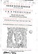 download ebook decisiones sacrae rotae romanae coram iacobo caualerio .. pdf epub
