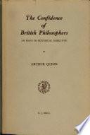The Confidence of British Philosophers