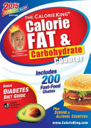 The Calorieking Calorie  Fat   Carbohydrate Counter 2015  Pocket Size Edition