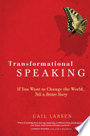 Transformational Speaking : challenging times call for passionate visionaries...