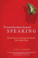 download ebook transformational speaking pdf epub
