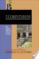 2 Corinthians  Baker Exegetical Commentary on the New Testament