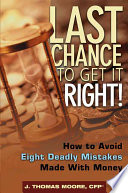 Last Chance To Get It Right  book