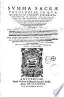Commentaria in summa St Thomae et Quodlibetales Questiones