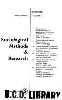 Sociological Methods   Research