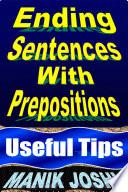 Ending Sentences with Prepositions
