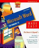 Microsoft Word for Windows 95 Made Easy