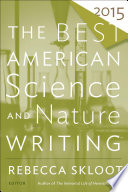 Book The Best American Science and Nature Writing 2015
