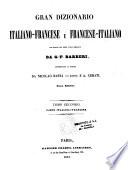 Grand dictionnaire fran  ais italien et italien fran  ais