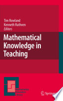 Mathematical Knowledge in Teaching