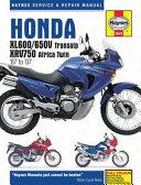 Honda XL600 650V Transalp   XRV750 Africa Twin  87 to  07