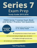 Series 7 Exam Prep Study Guide 2015 2016
