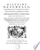 Histoire naturelle  g  n  rale et particuli  re pour servir de suite    la th  orie de la terre et de pr  liminaire    l histoire des v  g  taux