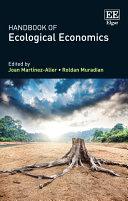 Handbook of Ecological Economics