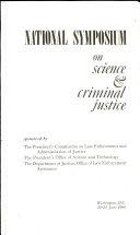 National Symposium on Science   Criminal Justice