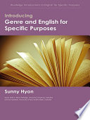 Introducing Genre and English for Specific Purposes
