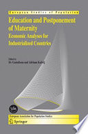 Education And Postponement Of Maternity