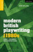 Modern British Playwriting: The 1980s