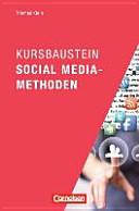 Kursbaustein Social Media-Methoden