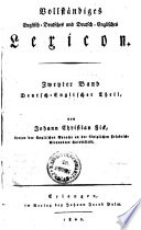 Vollständiges Englisch-Deutsches und Deutsch-Englisches Lexikon
