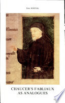Chaucer's Fabliaux as Analogues