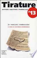 Tirature 2013  Le emozioni romanzesche