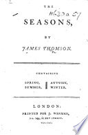 The Seasons  Etc