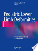 Pediatric Lower Limb Deformities book