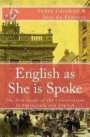 English As She Is Spoke