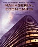 Managerial Economics: Theory, Applications, and Cases
