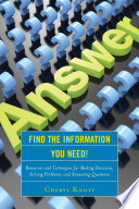 Find The Information You Need