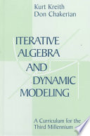 Iterative Algebra and Dynamic Modeling