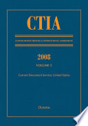 CTIA  Consolidated Treaties and International Agreements 2008 Volume V